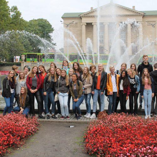 uitwisseling cultuur jaar 3 met gymnasium 12 Poznan