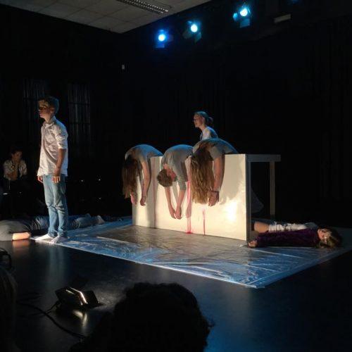 Theatervoorstelling door leerlingen