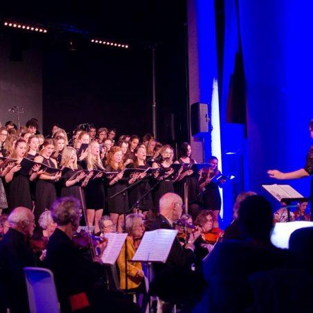 Night of the Classics Koor tijdens optreden