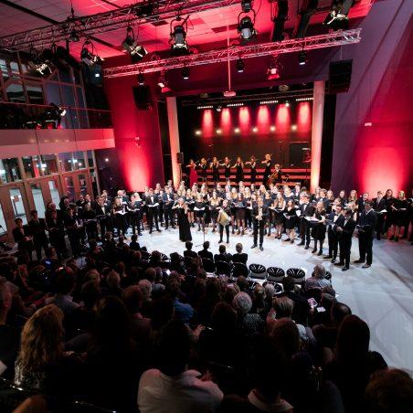 Night of the Classics optreden in onze eigen school op het prachtige podium!